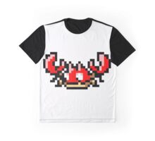 Pokemon 8-Bit Pixel Krabby 098 Graphic T-Shirt