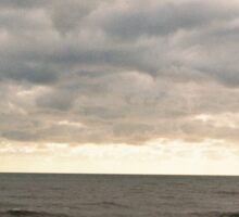 Crashing Brighton Waves Sticker