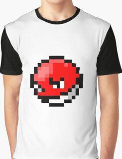 Pokemon 8-Bit Pixel Voltorb 100 Graphic T-Shirt