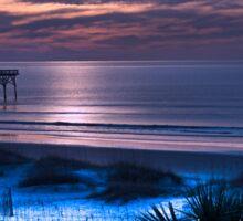 Twilight on the Atlantic Sticker