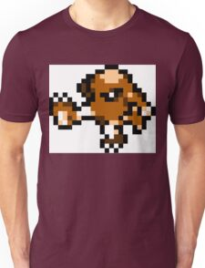 Pokemon 8-Bit Pixel Hitmonlee 106 Unisex T-Shirt