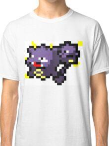 Pokemon 8-Bit Pixel Weezing 110 Classic T-Shirt