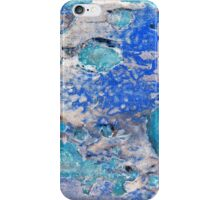 Blue Dog Boo Abstract iPhone Case/Skin