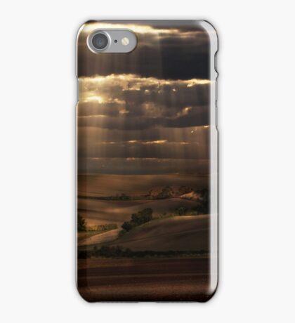Sunny shower iPhone Case/Skin