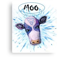 Tele[athic Cow Canvas Print