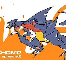 A Wild Garchomp Appeared by spacehyena