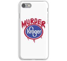 murder shirt iPhone Case/Skin