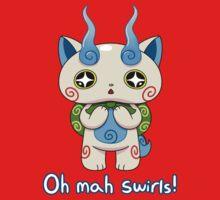 Yo-kai Watch Komasan - Oh mah swirls! One Piece - Short Sleeve