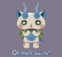 Yo-kai Watch Komasan - Oh mah swirls! Kids Tee