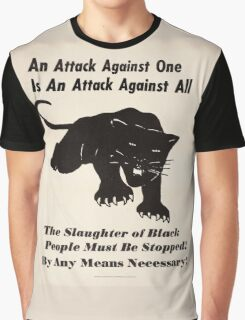 Black panther poster Graphic T-Shirt