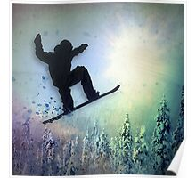 The Snowboarder: Air Poster