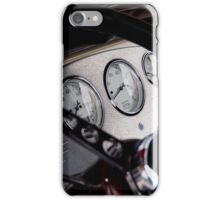 Ford Hot Rod Dashboard iPhone Case/Skin