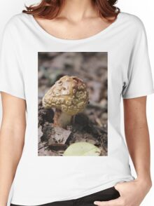 mushrooms in the forest Women's Relaxed Fit T-Shirt
