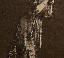 """Old West Madame or saloon owner, """"Etta"""" Sticker"""