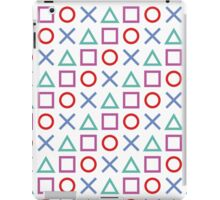 Gamer Pattern White iPad Case/Skin