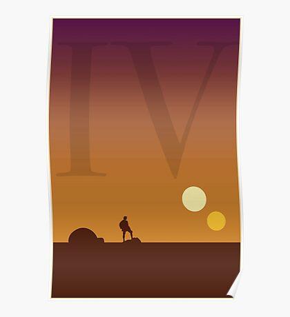 Star Wars Episode 4 Poster