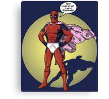 Captain Underpants Canvas Print