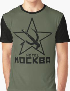 Black Lagoon Hotel Moscow Graphic T-Shirt