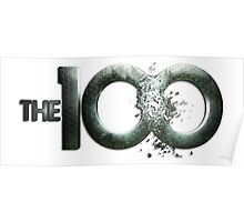 The 100 logo Poster