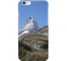 The Matterhorn, an icon iPhone Case/Skin