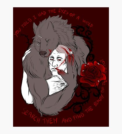Beauty of the beast Photographic Print