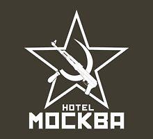 Black Lagoon Hotel Moscow white Unisex T-Shirt