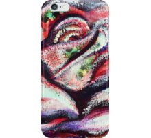 The Soul of a Rose - Inner Power Painting by Magic with Mellie iPhone Case/Skin