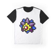 Pokemon 8-Bit Pixel Starmie 121 Graphic T-Shirt