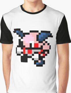 Pokemon 8-Bit Pixel Mr. Mime 122 Graphic T-Shirt