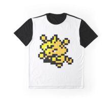 Pokemon 8-Bit Pixel Electabuzz 125 Graphic T-Shirt