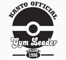 Pokemon Kanto Official Gym Leader One Piece - Short Sleeve