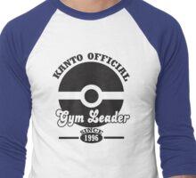 Pokemon Kanto Official Gym Leader Men's Baseball ¾ T-Shirt