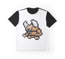 Pokemon 8-Bit Pixel Pinsir 127 Graphic T-Shirt