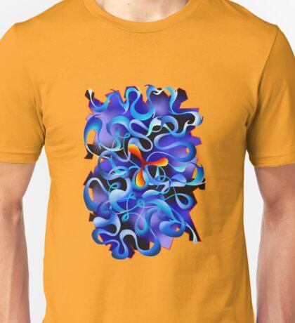 Jamurina V3 - digital abstract Unisex T-Shirt