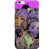 3 Ladies- street art in Bristol iPhone Case/Skin