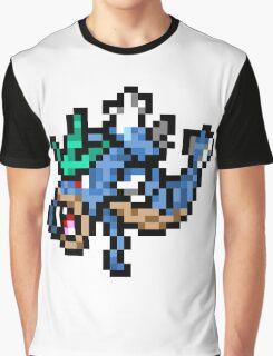 Pokemon 8-Bit Pixel Gyarados 130 Graphic T-Shirt