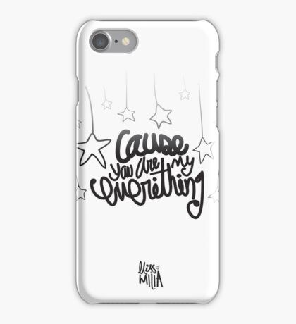 Everything type iPhone Case/Skin
