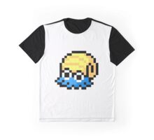 Pokemon 8-Bit Pixel Omanyte 138 Graphic T-Shirt