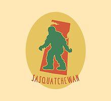 Sasquatchewan by ridiculouis