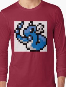 Pokemon 8-Bit Pixel Dragonair 148 Long Sleeve T-Shirt