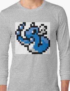 Pokemon 8-Bit Pixel Dragonair 148 Long Sleeve T-Shirt