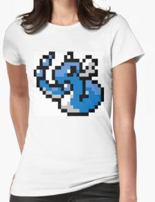 Pokemon 8-Bit Pixel Dragonair 148 Womens Fitted T-Shirt