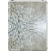White Fur Winter Warm Pattern  iPad Case/Skin