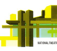 National Theatre London by opul