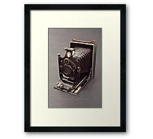 Antique Camera Framed Print