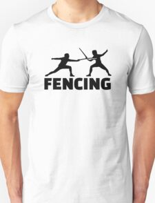 Fencing Unisex T-Shirt
