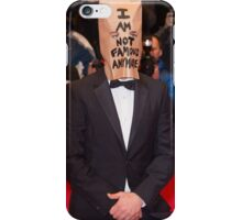 """Shia Labeouf """"I am not famous anymore"""" iPhone Case/Skin"""