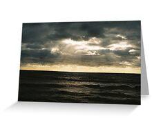 Seaside Sun Greeting Card