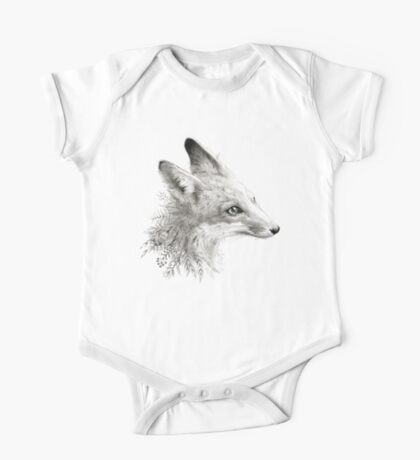 A Young Fox One Piece - Short Sleeve
