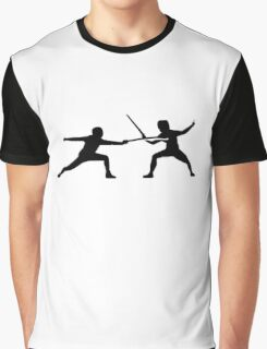 Fencing Graphic T-Shirt
